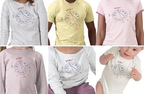 Birth Chart T-Shirts