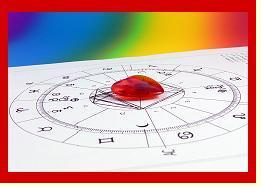 Heart with Birth Chart